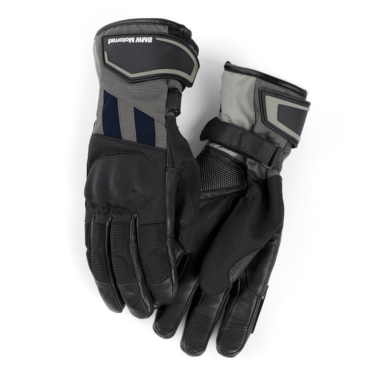 Женские мотоперчатки BMW Motorrad GS Dry Glove, Ladies, Black/Grey