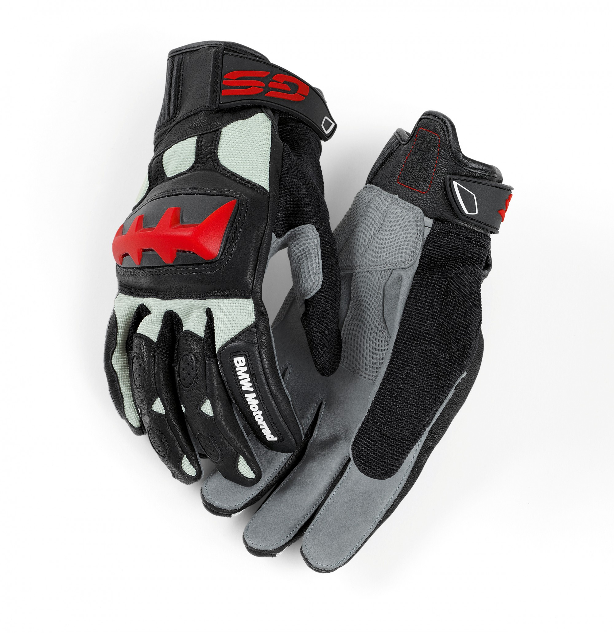 Мотоперчатки BMW Motorrad Rallye Gloves, Black/Red