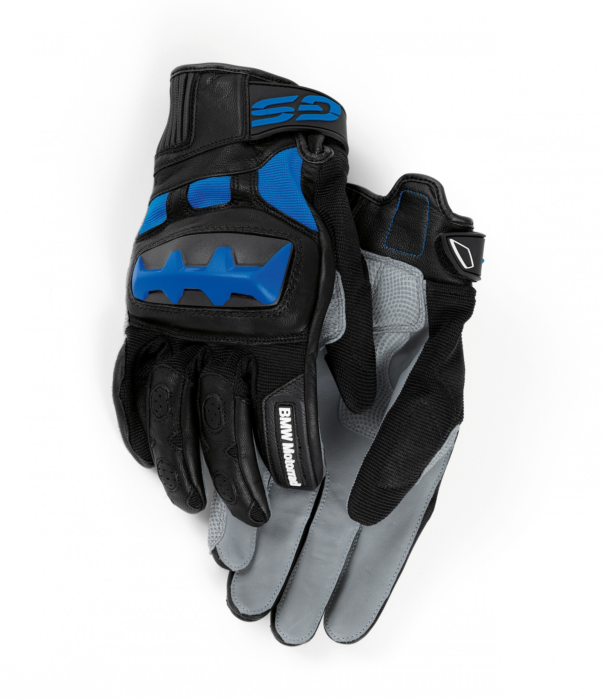 Мотоперчатки BMW Motorrad Rallye Gloves, Black/Blue