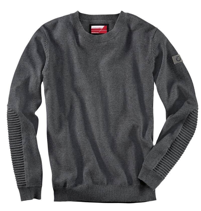 Мужской пуловер BMW Motorrad Men's Dynamic Sweater, Black