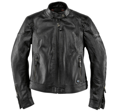 Женская мотокуртка BMW Motorrad BlackLeather Jacket ôîòî