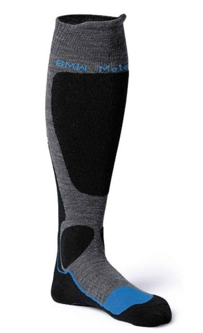 Носки согревающие BMW Motorrad Functional socks, Anthracite / Black / Blue