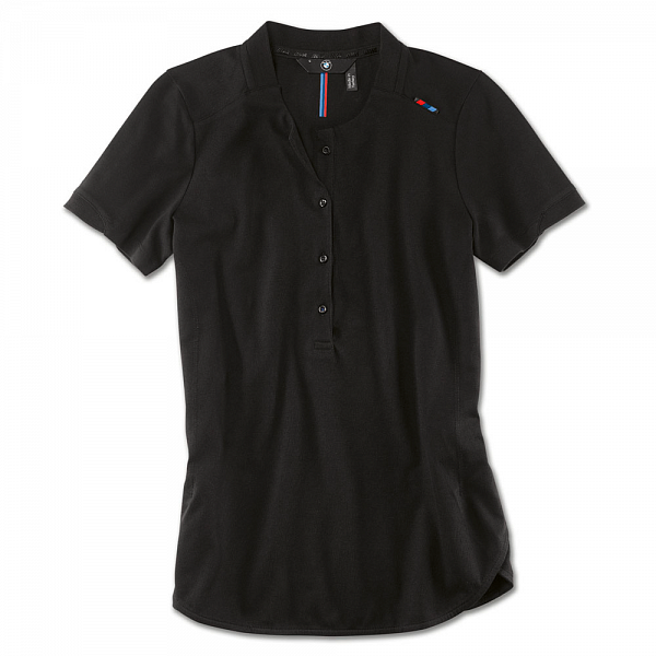 Женская рубашка-поло BMW M Polo Shirt, Ladies, Black ôîòî