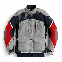 Женская мотокуртка BMW Motorrad Jacket GS Dry, Woman, Grey/Blue/Red ôîòî