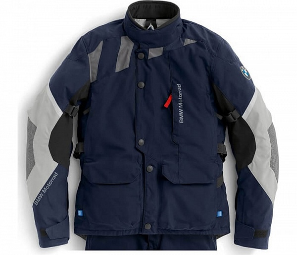 Женская мотокуртка BMW Motorrad Jacket GS Dry, Woman, Black/Blue/Grey ôîòî