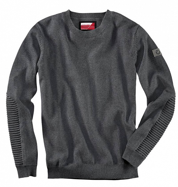 Мужской пуловер BMW Motorrad Men's Dynamic Sweater, Black ôîòî