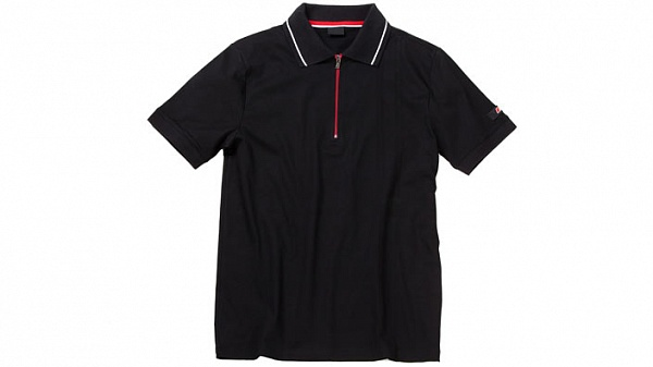 Мужская рубашка поло Audi RS Mens Polo Shirt, Black ôîòî