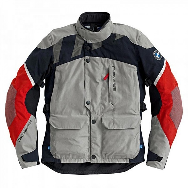 Мужская мотокуртка BMW Motorrad Jacket GS Dry, man, Grey/Blue/Red ôîòî
